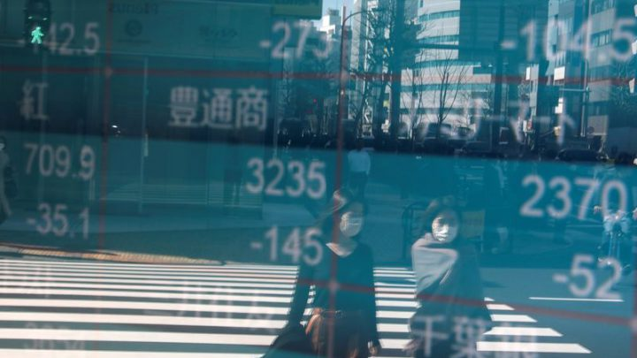 Asian shares grind higher, virus risks block the way