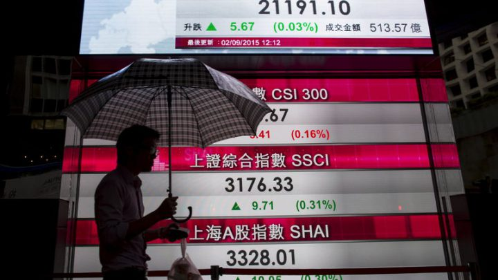 Global Free-Fall Hits Asia as U.S. Engine Stalls